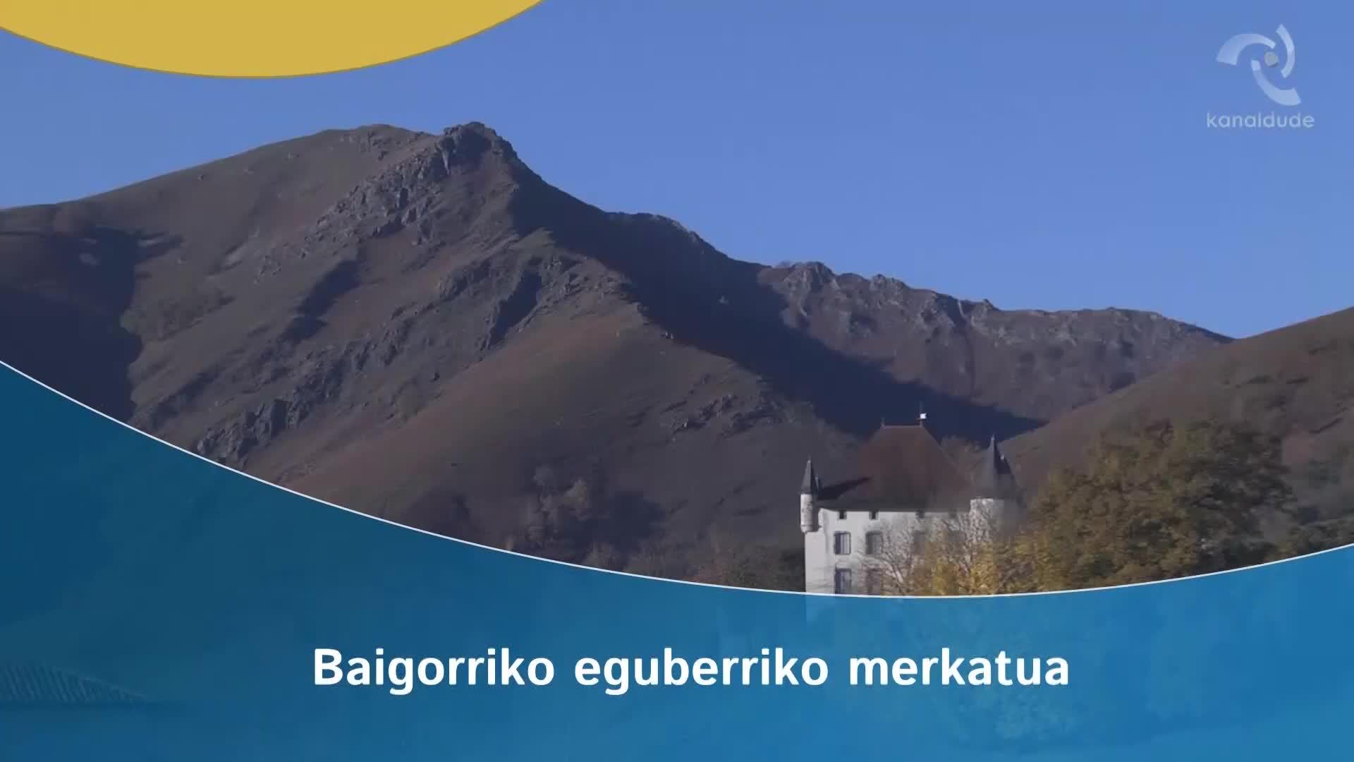 Baigorriko eguberriko merkatua