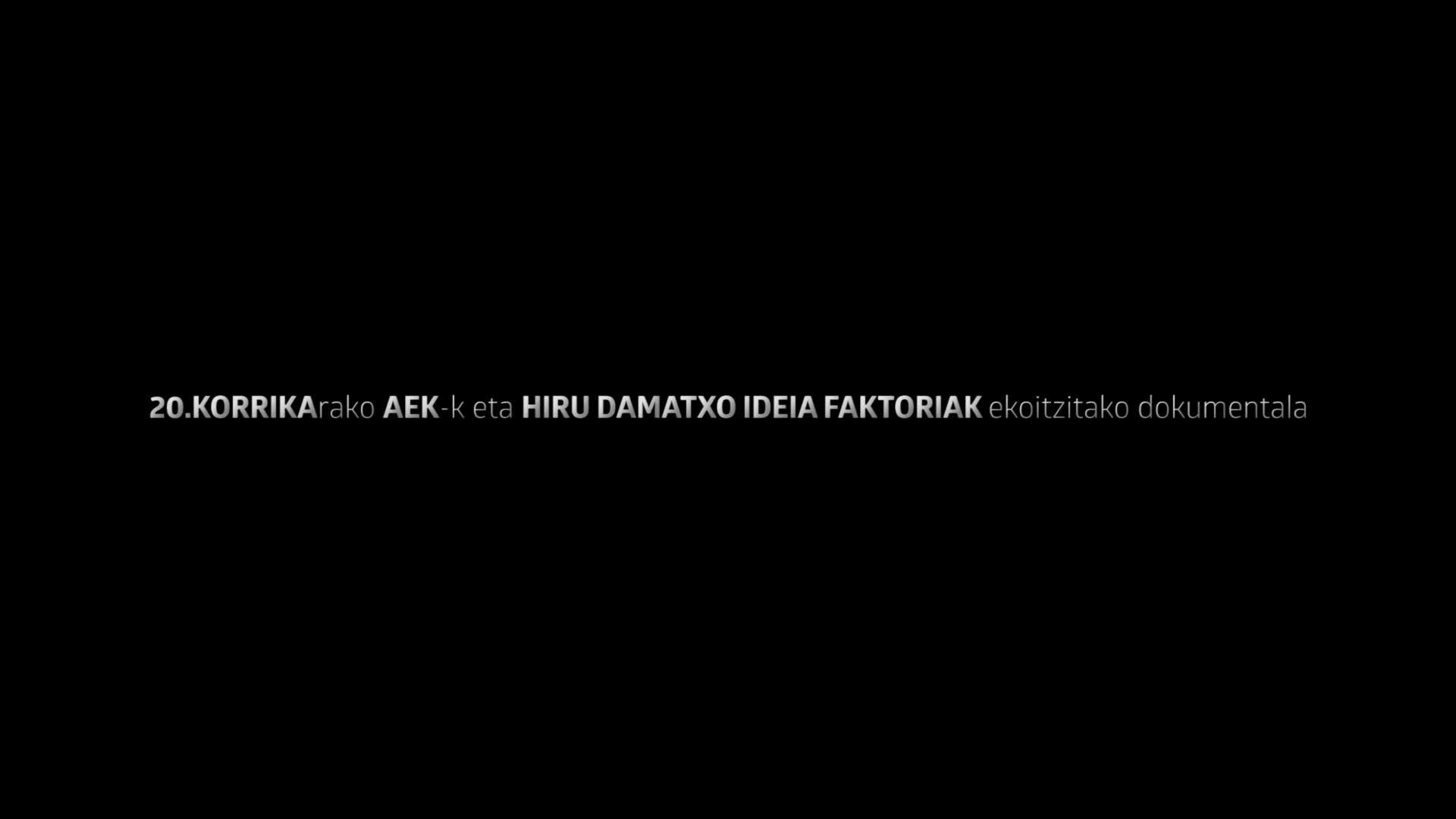 """""""Euskararen 4 aurpegi"""" dokumentala"""