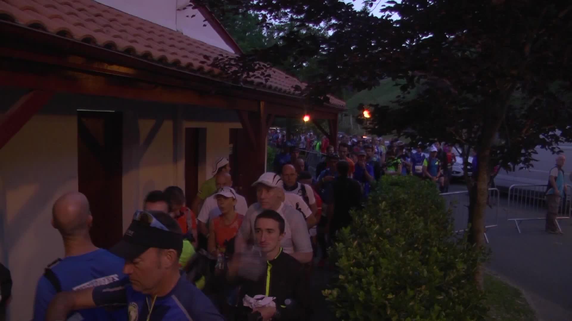 Euskal Trail 2017: Urepele abiatzea 06:30tan