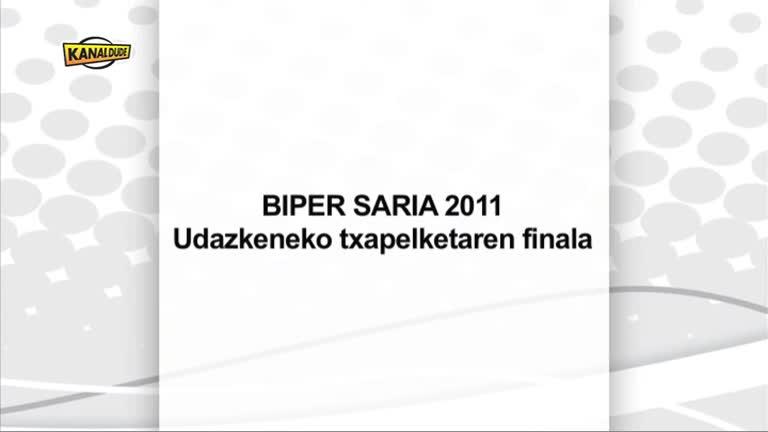 PILOTA : BIPER SARIA finala 2012 Ezpeletan