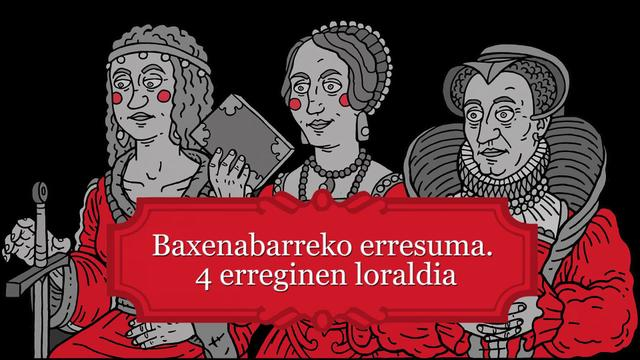 Nafarroa Beherako erresuma, 4 erreginen loraldia. Amaia Nausiaren hitzaldia