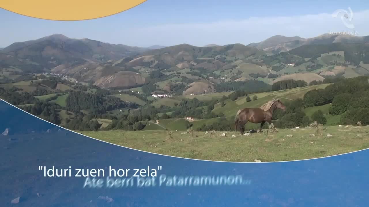 """""""Iduri zuen hor zela"""": estreinaldia Urepelen"""
