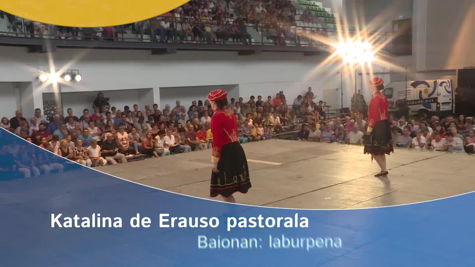 Katalina de Erauso pastorala Baionan: laburpena