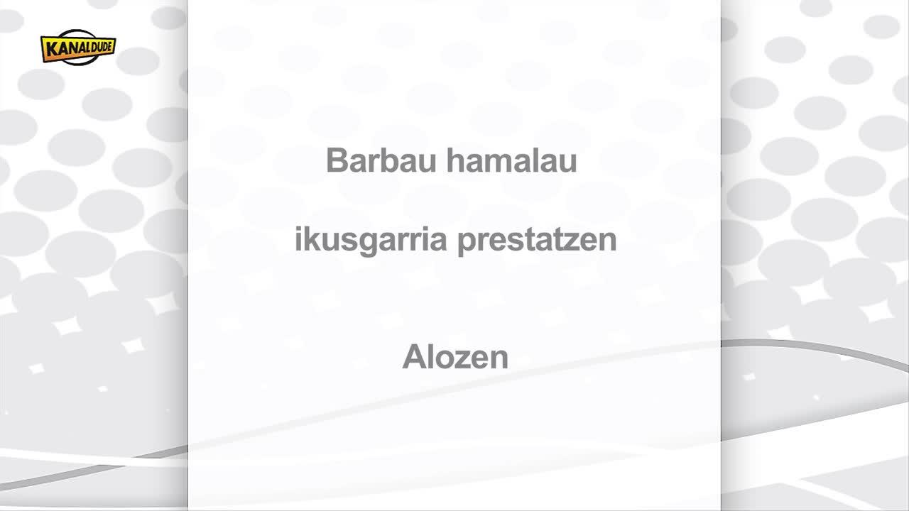 """""""Barbau hamalau"""" ikusgarria Xiberoan"""