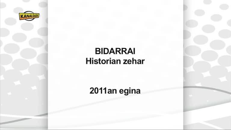 BIDARRAI Historian zehar