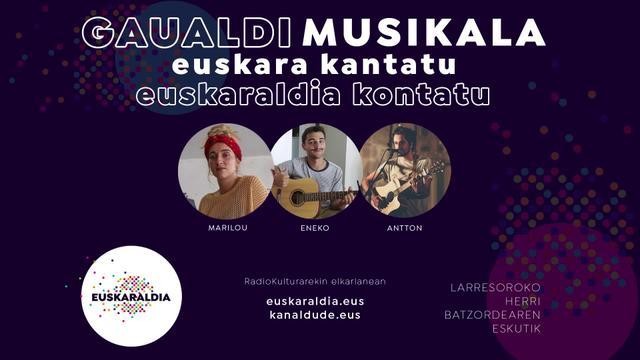 Gaualdi musikala - Euskaraldia