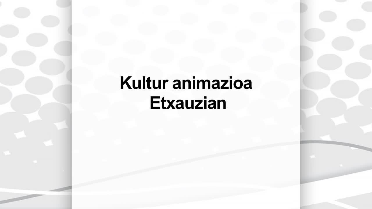 Kultur animazioa Etxauzian, Baigorriko ikastolaren eskutik