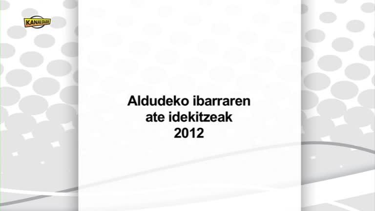 Aldudeko ibarraren ate idekitzeak 2012
