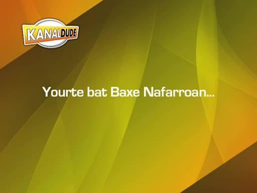 Yourte bat Baxe Nafarroan