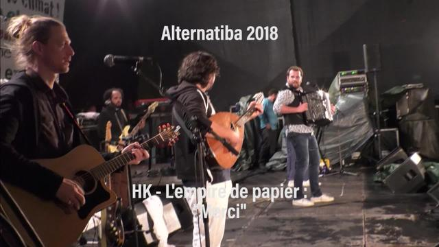 "Alternatiba 2018: HK ""Merci"""