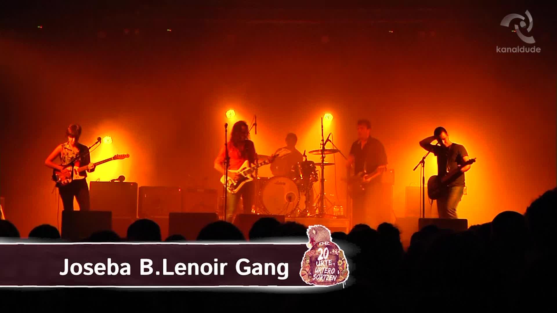 EHZ 2015: Joseba B.Lenoir Gang
