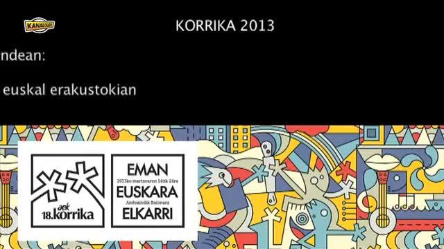 KORRIKA 2013: Euskara XXI.mendean