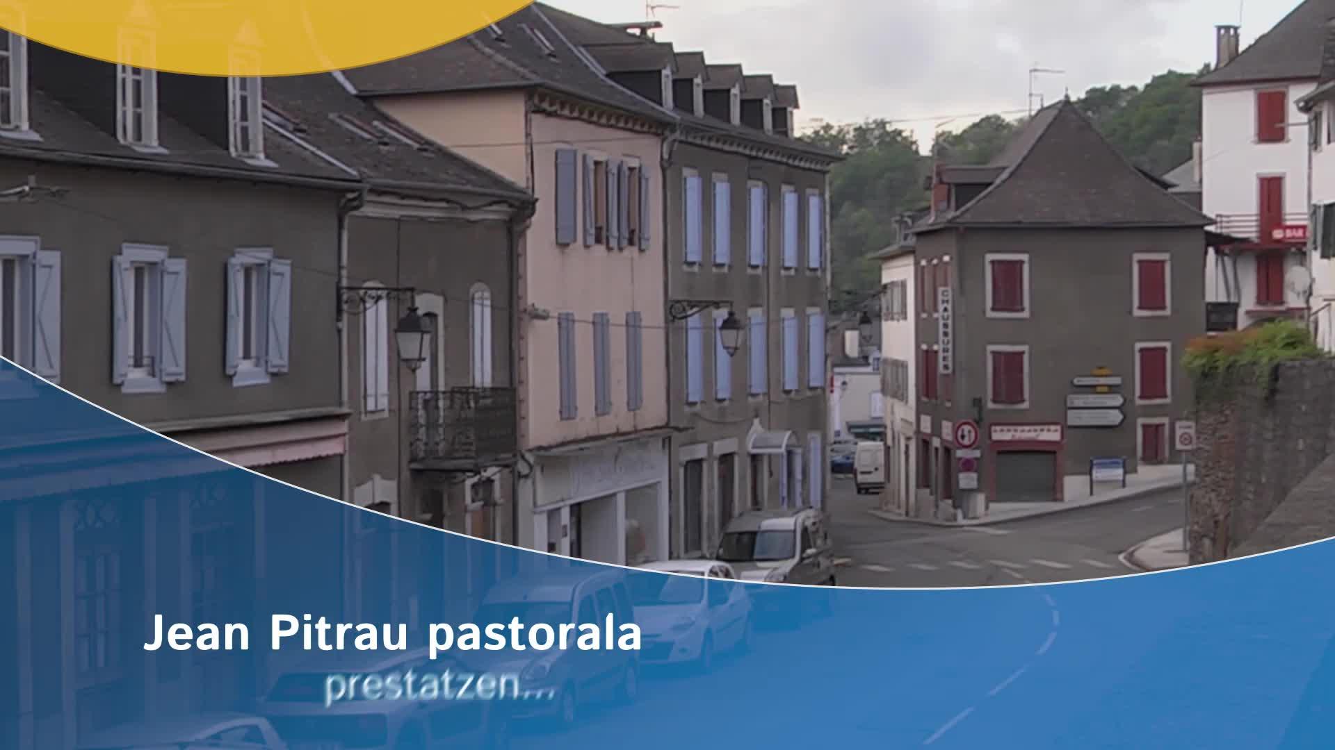 Jean Pitrau pastorala prestatzen