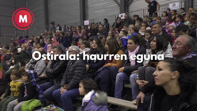 Lurrama 2019 ostirala haurren eguna