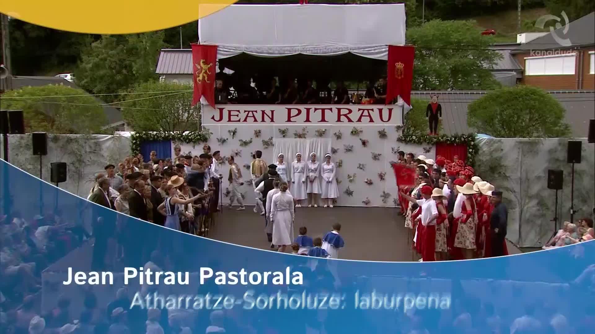 Jean Pitrau pastoralaren DVDa salgai da