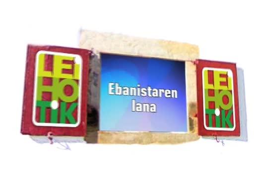 Ortzaize eskulan Ebanista