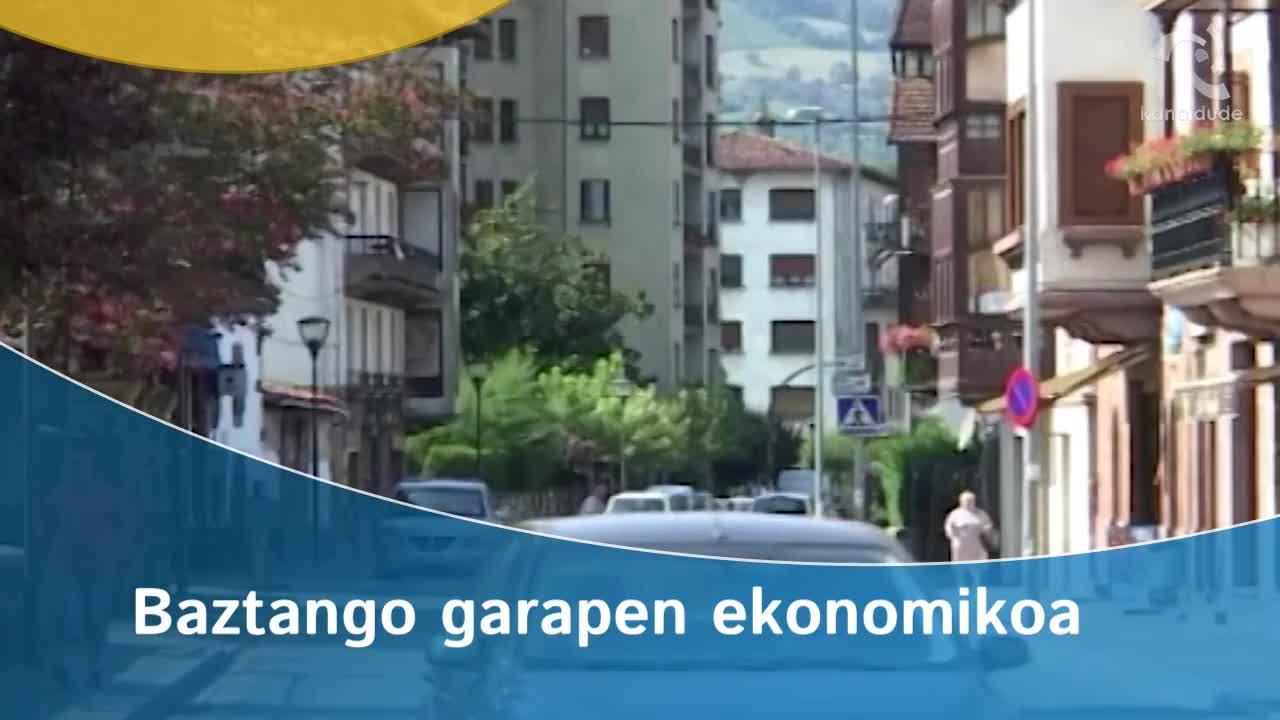 Baztango garapen ekonomikoa