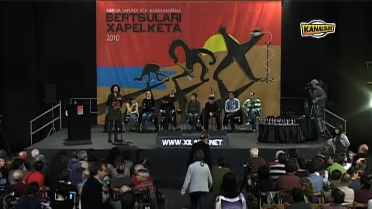 XILABA 2010 : Lehen partearen emaitzak + Amets eta Odei 8ko tikian