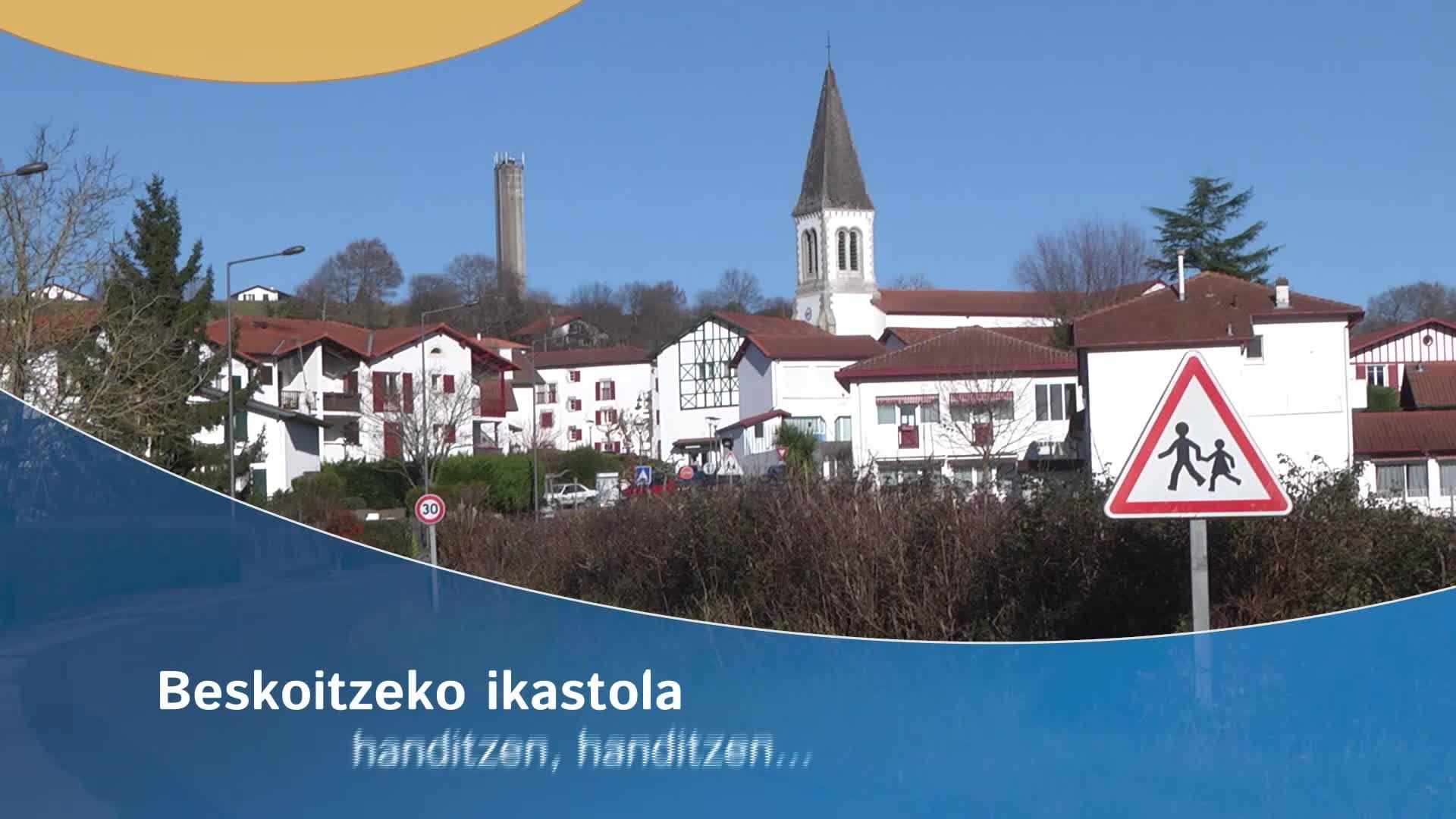 Beskoitzeko ikastola: handitzen, handitzen...