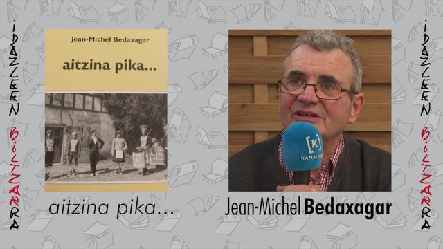 Idazleen Biltzarra 2019 - Jean-Michel Bedaxagar eta Sü Azia