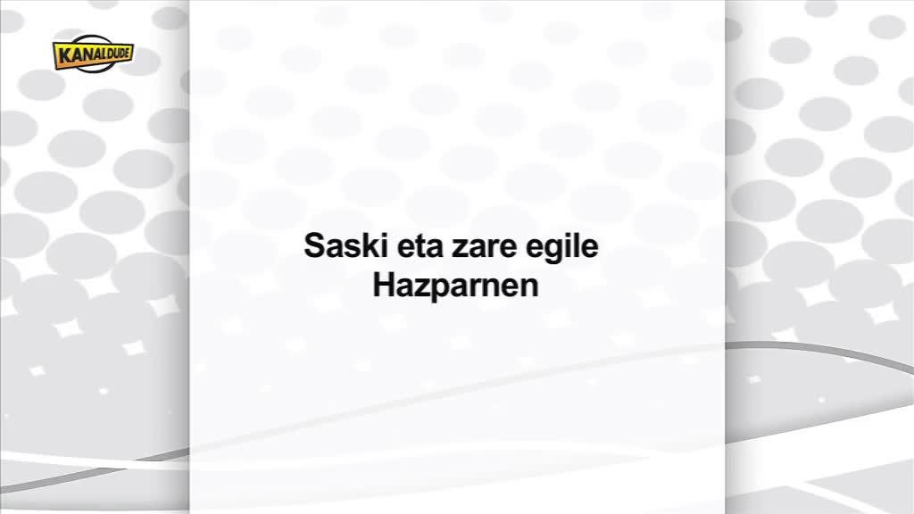 Saski eta zare egile Hazparnen