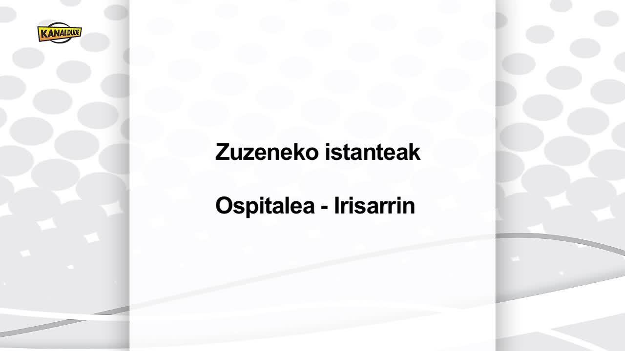 Korrika 2013 Zuzenezko ixtanteak