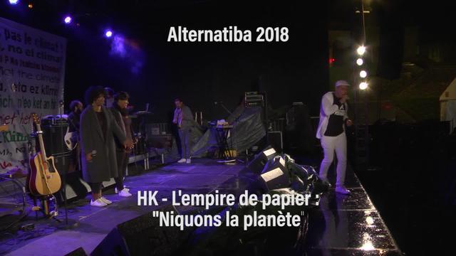 "Alternatiba 2018: HK ""Niquons la planète"""