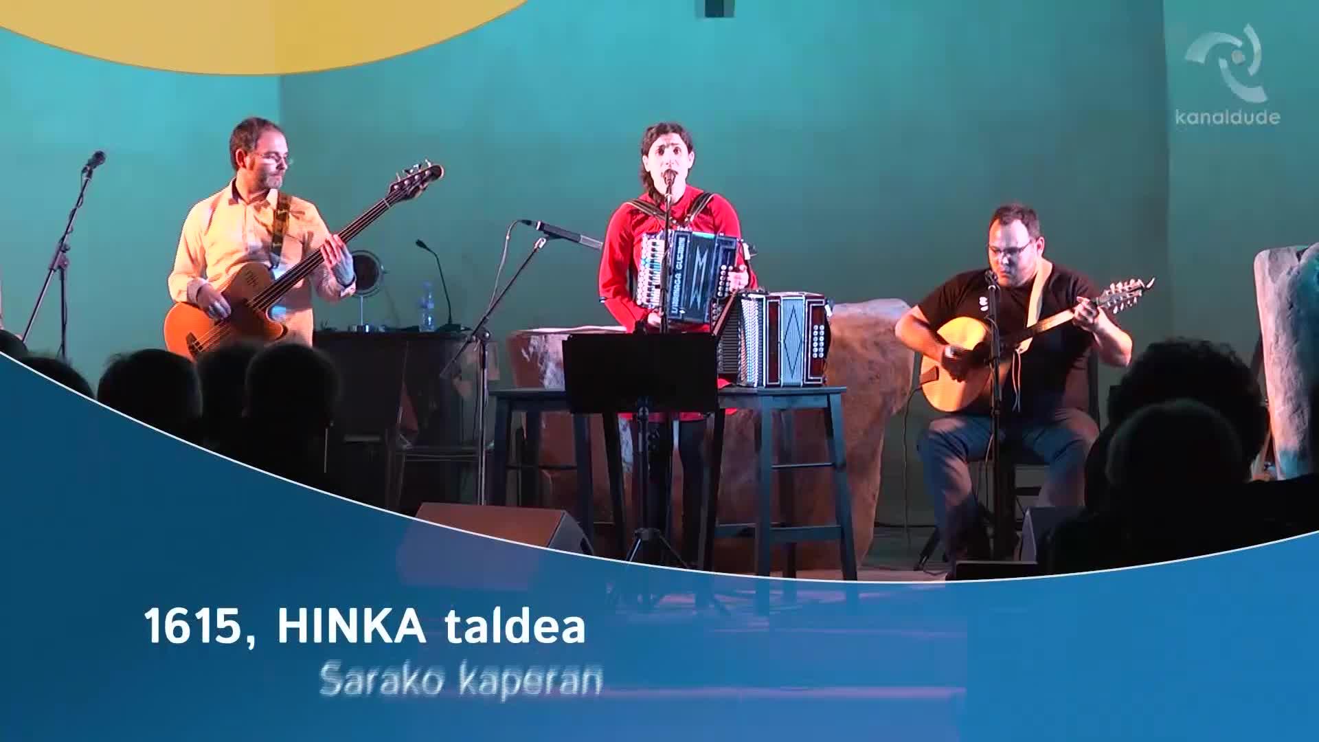1615 Hinka taldea Sarako kaperan