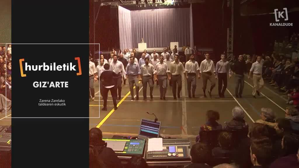 Giz'Arte, Zarena Zarelako taldearen eskutik