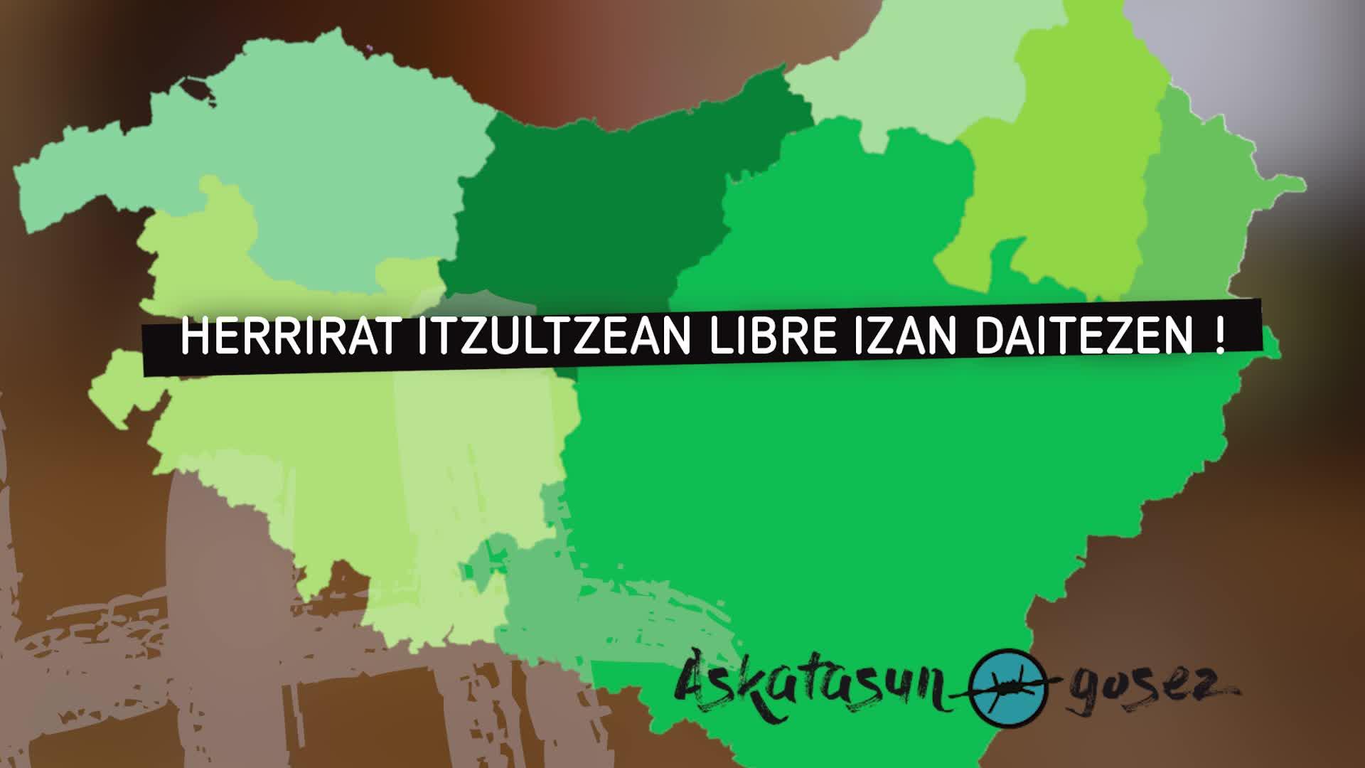 Askatasun Gosez: zazpi herrialde, saski bat!
