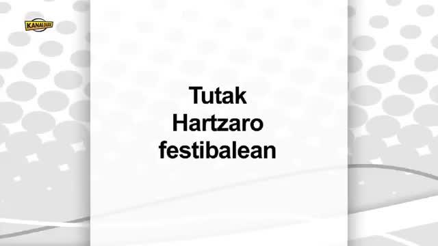 Tutak Hartzaro festibalean