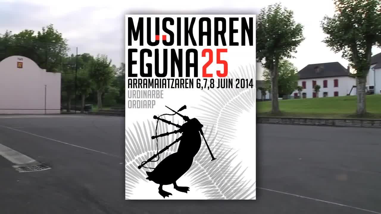 Musikaren eguna 2014: taldeen izenak