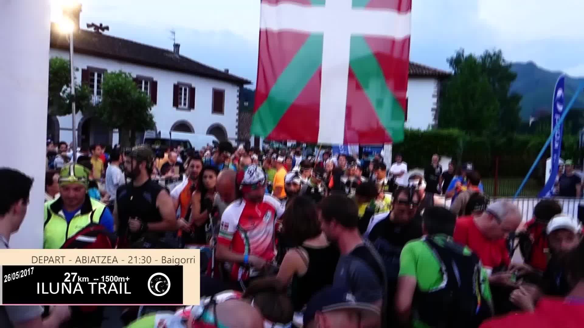 Euskal Trail 2017: Ilunatrail abiatzea