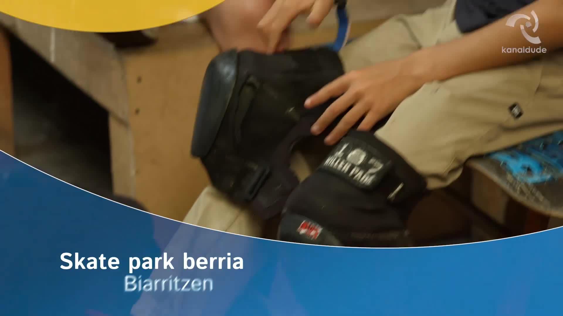 Skate park berria Biarritzen