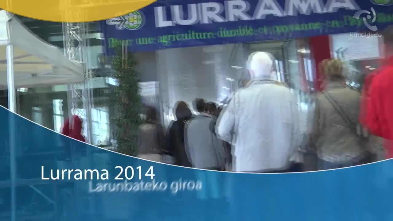 LURRAMA 2014 Larunbateko giroa