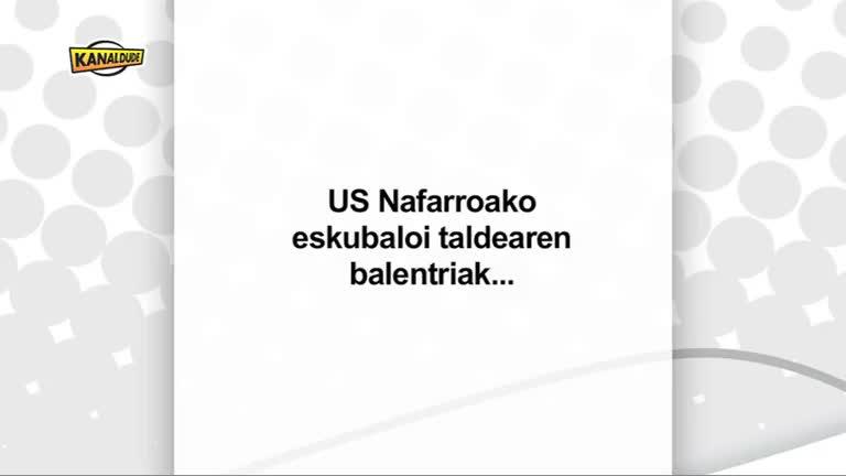 ESKU BALOIA : US Nafarroa taldearen balentriak