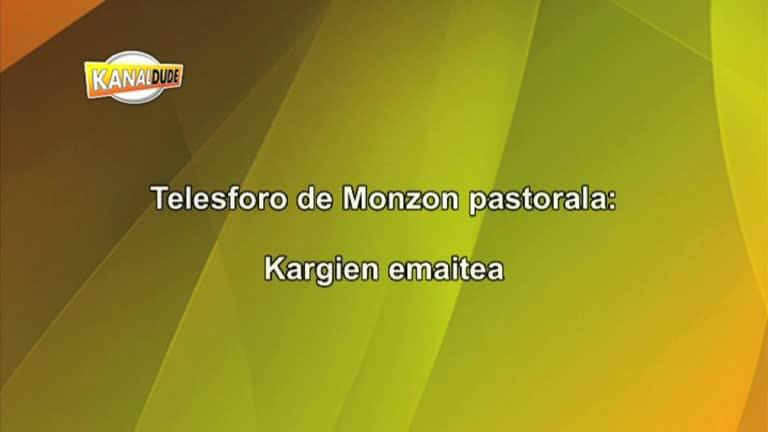 Telesforo de Monzon pastorala : kargien banaketa