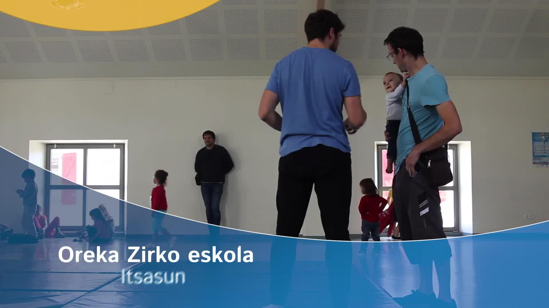 Oreka Zirko Eskola Itsasun