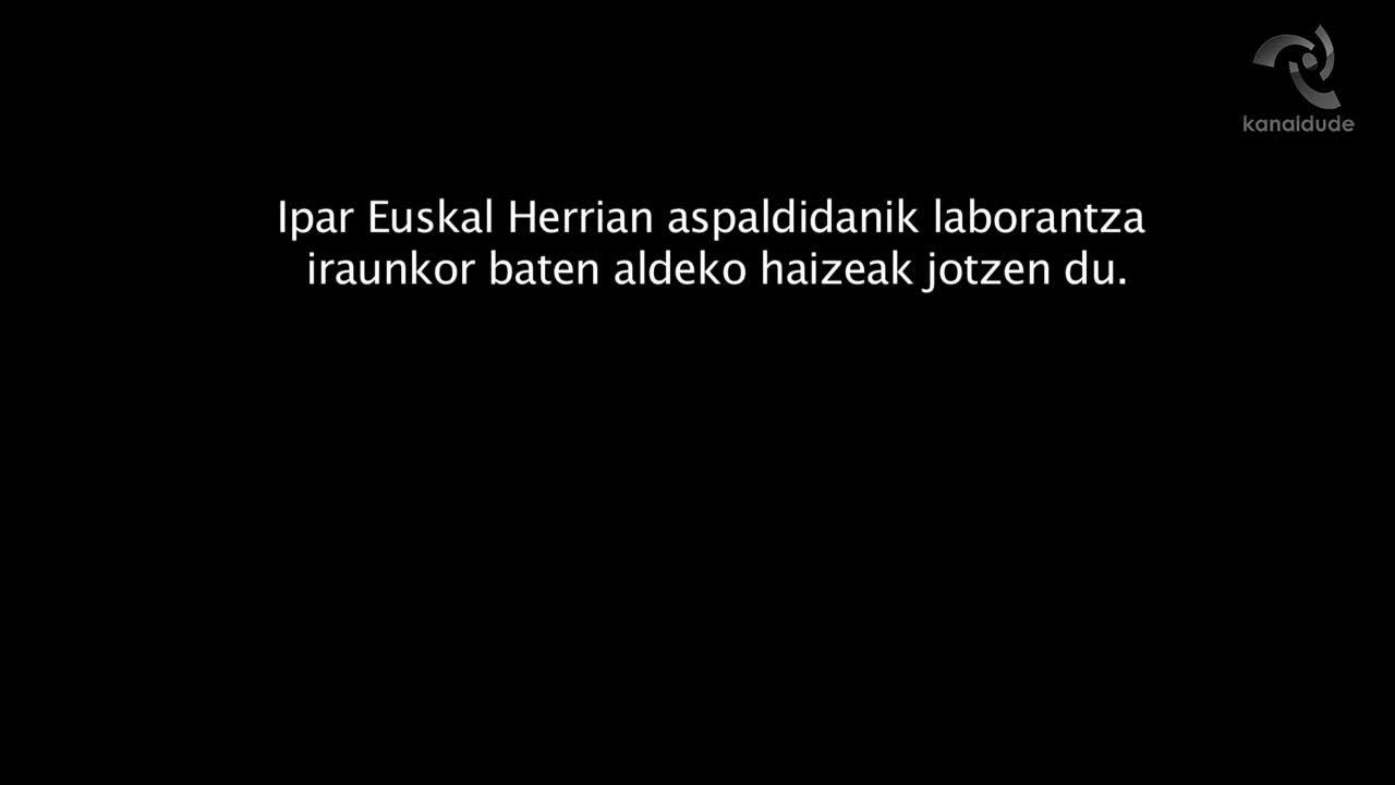 """""""Euskal Herriko Laborantza Ganbarak 10 urte"""" dokumentala"""
