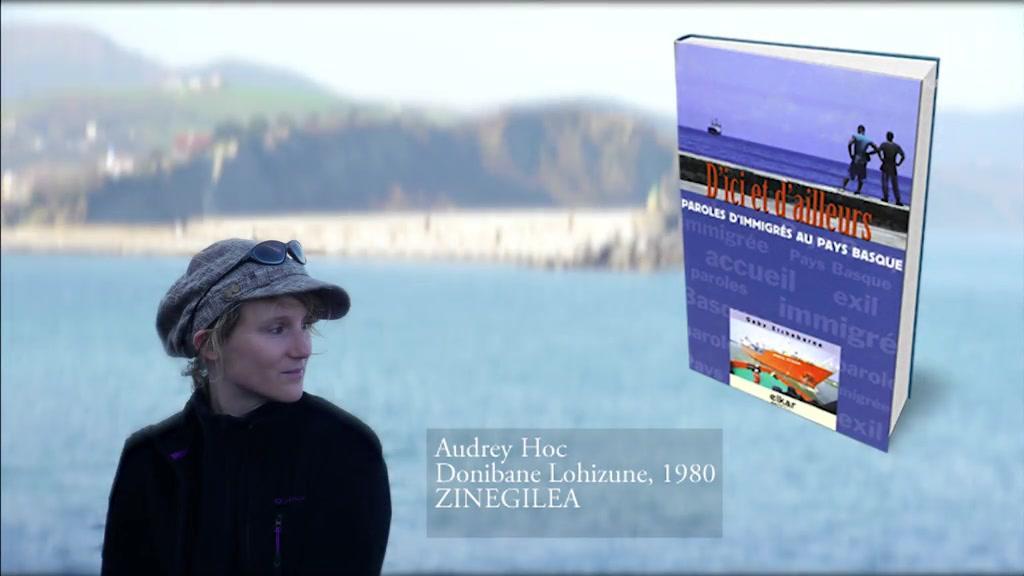 """""""Hemendik eta handik"""" - Audrey Hoc-en webdokumentala"""