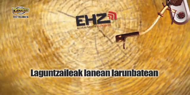 EHZ 2012 : Laguntzaileak larunbatean