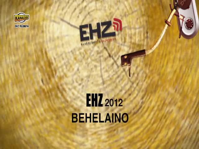 EHZ 2012 : SORGIN Behelaino antzerkia.