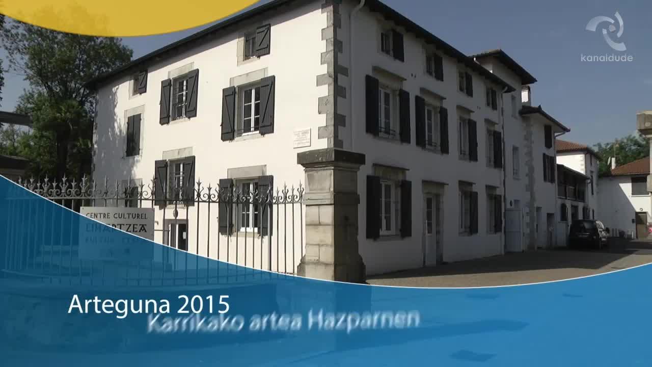 Arteguna 2015: Karrikako artea Hazparnen