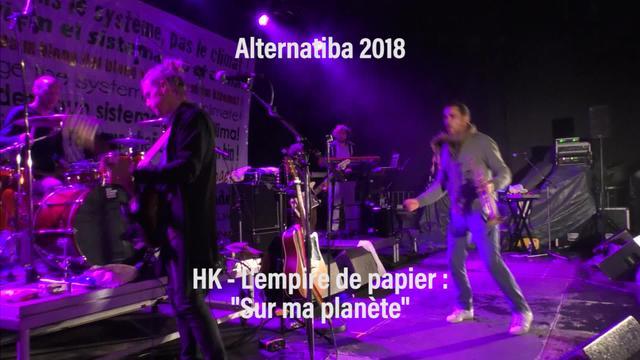 "Alternatiba 2018: HK ""Sur ma planète"""