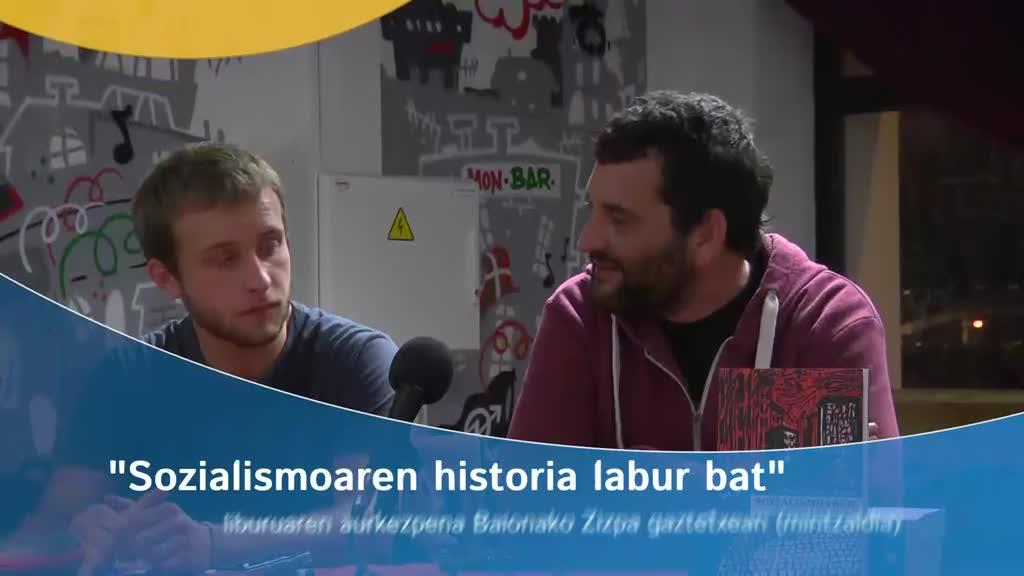 """""""Sozialismoaren historia labur bat"""" liburuaren aurkezpena (mintzaldia)"""
