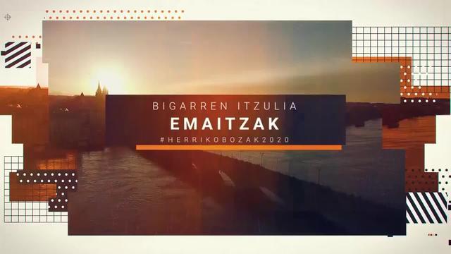 Herriko Bozak 2020 Bigarren itzuliaren emankizuna