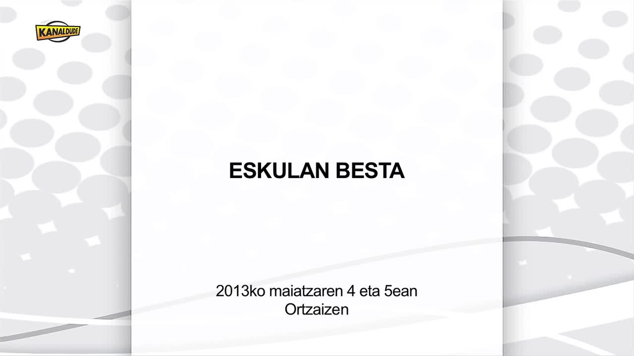 Eskulan besta Ortzaizen