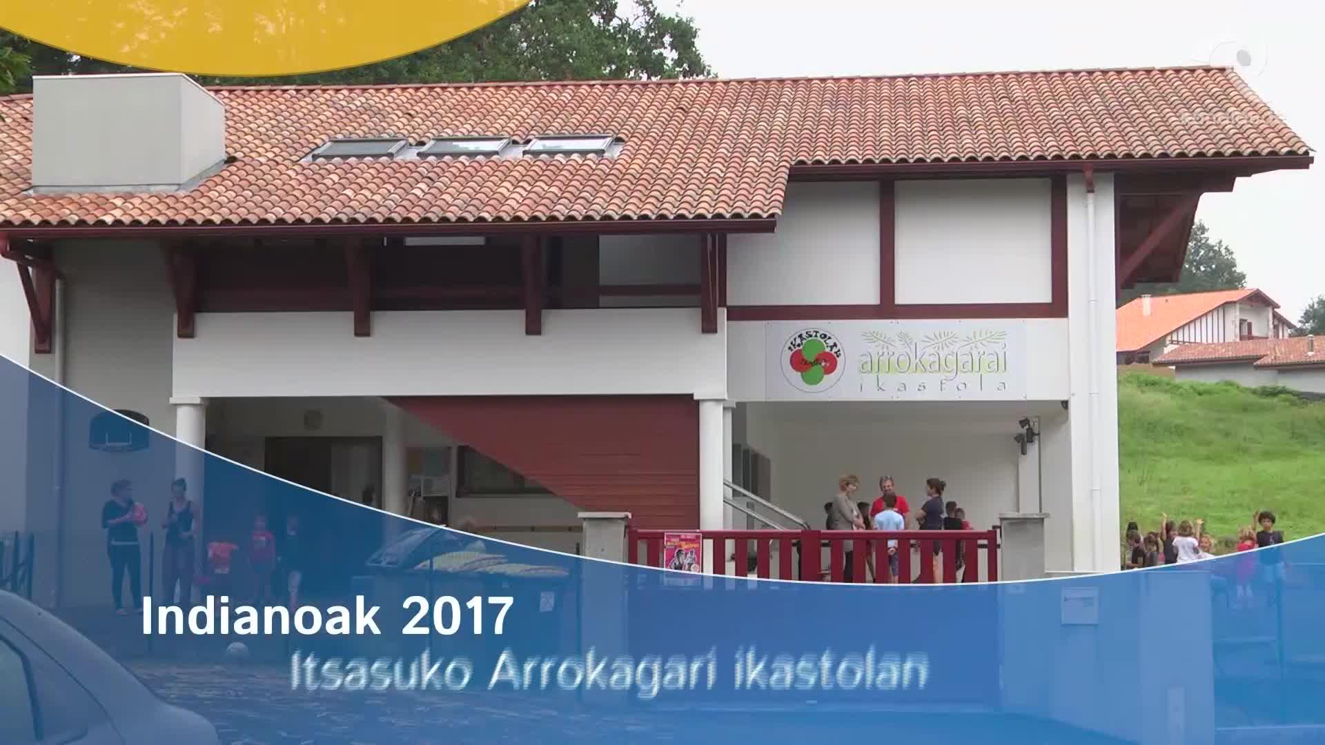 Indianoak 2017 Arrokagarai ikastolan