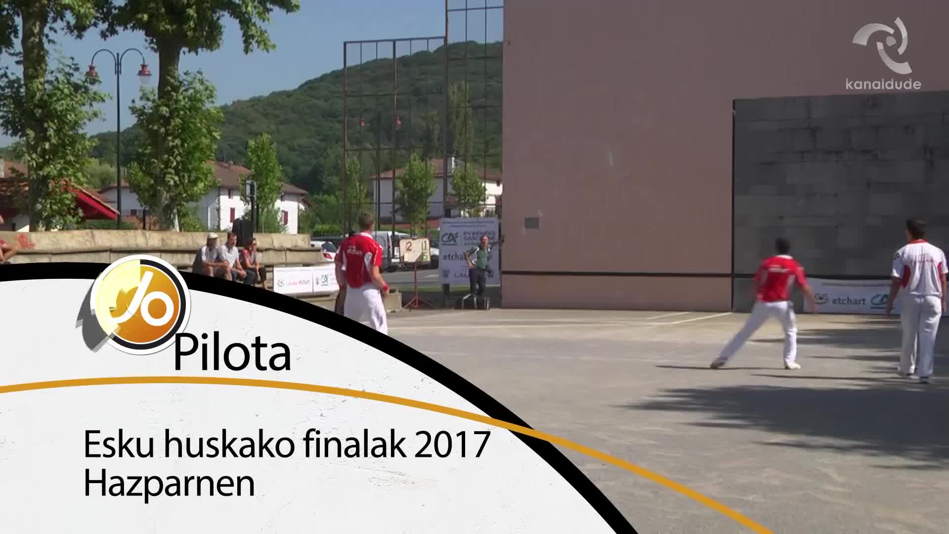 Esku huskako finalak 2017 Hazparnen