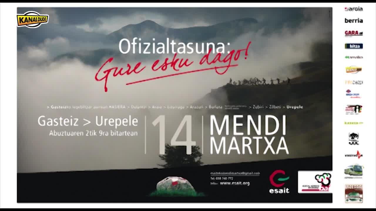 Mendi martxa 2014, ESAIT elkartearen eskutik